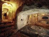 Christian Tombs  St Pauls Catacombs  Rabat  Malta