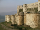 The Krak Des Chevaliers  Crusader Castle  Syria  Middle East