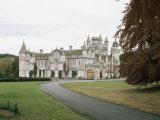 Balmoral Castle  Aberdeenshire  Highland Region  Scotland  United Kingdom