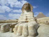 The Sphinx  Giza  Unesco World Heritage Site  Cairo  Egypt  North Africa  Africa