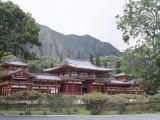 Byodo-In Temple  Buddhist Shrine on Windward Coast  Oahu  Hawaiian Islands