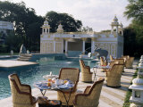 The Swimming Pool  Udai Bilas Palace  Dungarpur  Rajasthan State  India