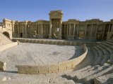 Theatre  Archaeological Site  Palmyra  Unesco World Heritage Site  Syria  Middle East