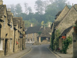 Castle Combe  by Brook Valley  Wiltshire  England  United Kingdom