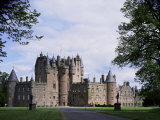 Glamis Castle  Highland Region  Scotland  United Kingdom