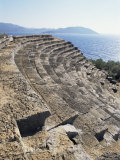 The 6th Century Greek Style Theatre of Psellus  Kas (Antiphellus)  Anatolia  Turkey