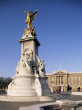 Victoria Memorial Outside Buckingham Palace  London  England  United Kingdom