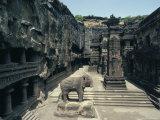 Cliff Temples  Ellora  Unesco World Heritage Site  Near Aurangabad  Maharashtra  India