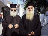 Orthodox Priests  Parga  Greece