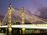 Albert Bridge  London  England  United Kingdom