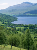 View of Loch Tay and Ben Lawers  Tayside  Scotland  United Kingdom