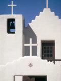 Christian Church  Taos Pueblo  New Mexico  USA