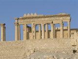 Ruins  Palmyra  Unesco World Heritage Site  Syria  Middle East
