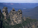 Three Sisters  Blue Mountains  Unesco World Heritage Site  New South Wales  Australia