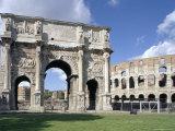 Arch of Constantine  Rome  Lazio  Italy