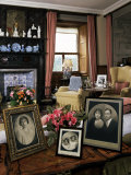 The Queen Mother's Sitting Room  Glamis Castle  Highland Region  Scotland  United Kingdom