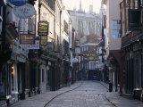 Stonegate  York  Yorkshire  England  United Kingdom