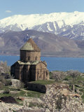 Armenian Church of Holy Cross  Akdamar Island  Lake Van  Anatolia  Turkey