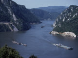 Iron Gates Area of the River Danube (Dunav)  Serbia