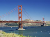 The Golden Gate Bridge  San Francisco  California  USA