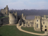 Chepstow Castle  Wales  United Kingdom