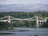 Menai Bridge  Wales  United Kingdom