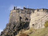 Edinburgh Castle  Edinburgh  Lothian  Scotland  United Kingdom
