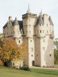 Craigievar Castle  Aberdeenshire  Highland Region  Scotland  United Kingdom