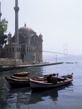 Ortakoy  Bosphorus Bridge  Bosphorus  Istanbul  Turkey  Eurasia