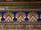 Decorative Detail in the Sheesh Mahal  Deo Garh Palace Hotel  Deo Garh  India