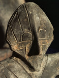 Close-Up of Carving  Vinca Culture  Belgrade Museum  Serbia
