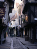The Shambles  York  Yorkshire  England  United Kingdom