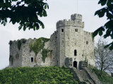 Norman Keep  Cardiff Castle  Cardiff  Glamorgan  Wales  United Kingdom