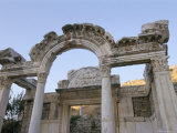 Ancient Roman Ruins  Ephesus  Anatolia  Turkey