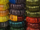 Colourful Bangles for Sale  Maheshwar  Madhya Pradesh State  India