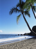 Beach  Hana Coast  Maui  Hawaii  Hawaiian Islands  United States of America  Pacific  North America