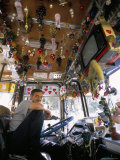 Decorated Bus  Damascus  Syria  Middle East