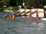 Rowing at the Henley Royal Regatta  Henley on Thames  England  United Kingdom