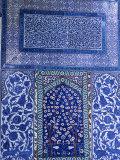 Close-Up of Mosaic  Topkapi Palace  Istanbul  Turkey