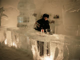 Smirnoff Ice Bar  Ice Hotel  Quebec  Quebec  Canada