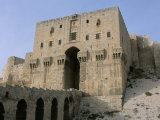 The Citadel  Unesco World Heritage Site  Aleppo  Syria  Middle East