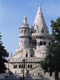 The Fisherman's Bastion in the Castle Area of Old Buda  Budapest  Hungary