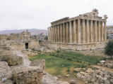 Ruins of Baalbek  Unesco World Heritage Site  Lebanon  Middle East