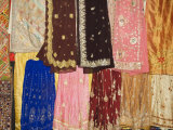 Wonderful Rajasthani Fabric Shops  Udaipur  Rajasthan State  India