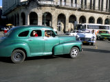 Old American Cars  Havana  Cuba  West Indies  Central America