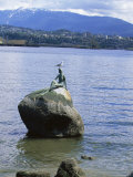 Mermaid Statue  Vancouver  British Columbia  Canada