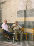 Smoking Water Pipes  Damascus  Syria  Middle East