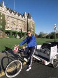 Pedicab  Victoria  British Columbia  Canada