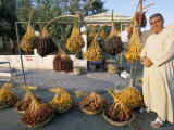Man Selling Dates  Palmyra  Syria  Middle East