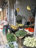 Vegetable Shop in the Armenian Area  Aleppo  Syria  Middle East